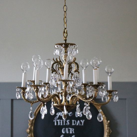 my grandmother 39 s chandelier sincerely sara d
