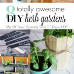 Talk DIY to Me Link Party #2 and 8 DIY Herb Garden Ideas