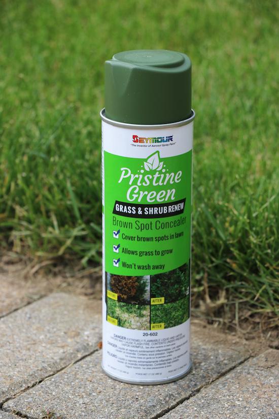 Pristine Green Grass & Shrub Renew