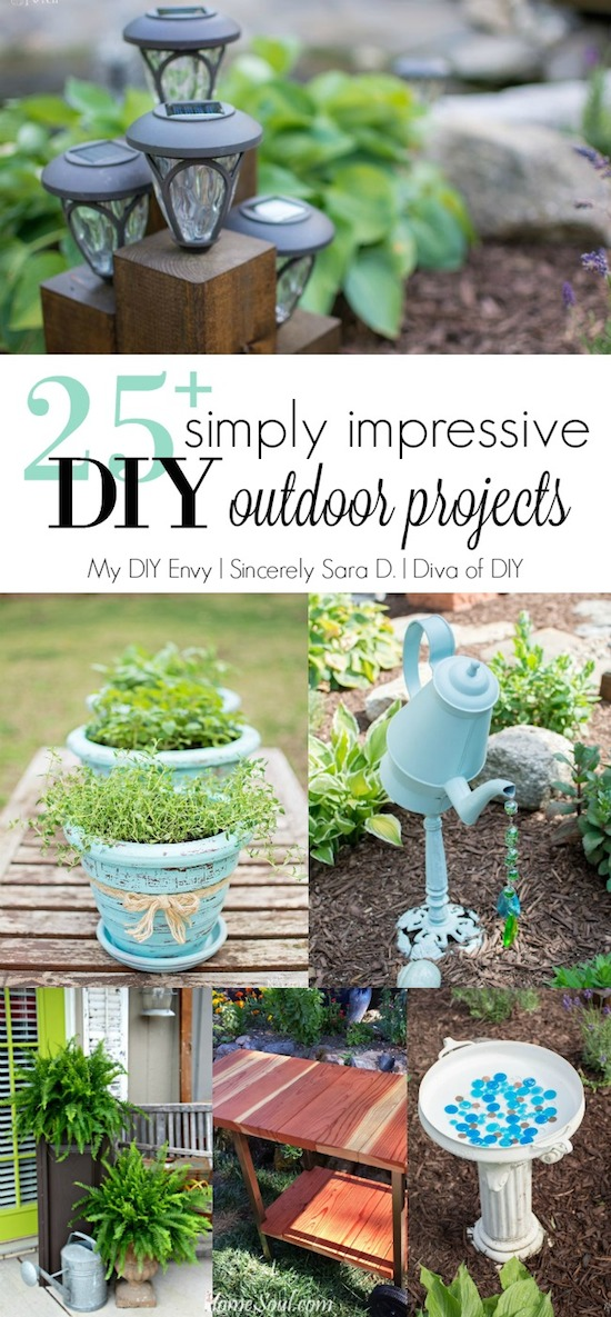 Talk DIY to Me Link Party #5 & DIY Outdoor Ideas