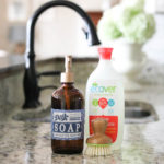 ecover Liquid Dish Soap & Printable Dish Soap Label