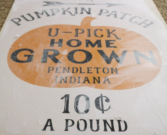 DIY Pumpkin Patch Sign Tutorial (1 of 1)