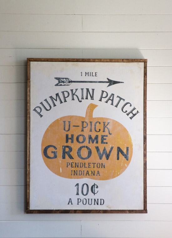 Vintage Pumpkin Patch Fall Printable | Sincerely, Sara D.