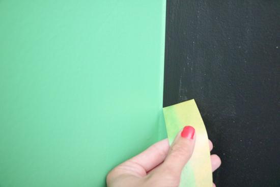 frog-tape-on-chalkboard-wall