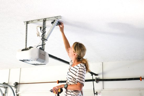 chamberlain garage door installation instructions