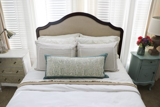 Master bedroom refresh with annie selke giveaway sincerely sara d First home decor pinterest