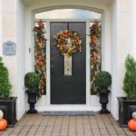 Fall Front Door Makeover with Balsam Hill