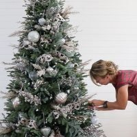 Decorating a Christmas Tree with Balsam Hill