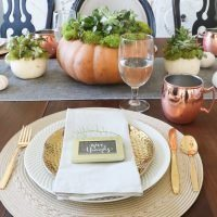 Thanksgiving Tables Decor