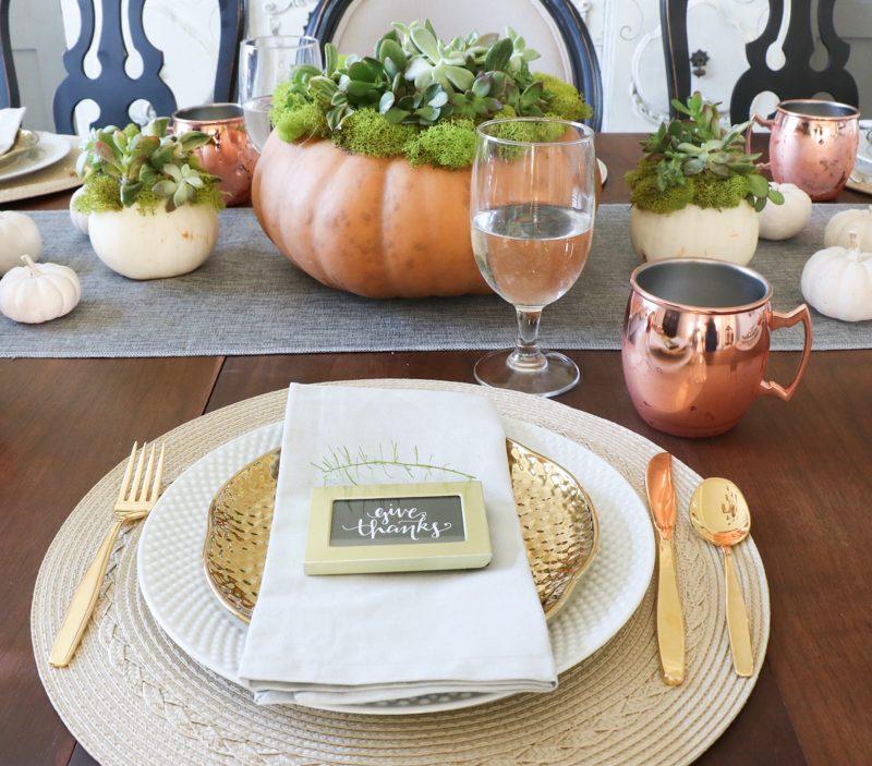 Thanksgiving Tables Decor