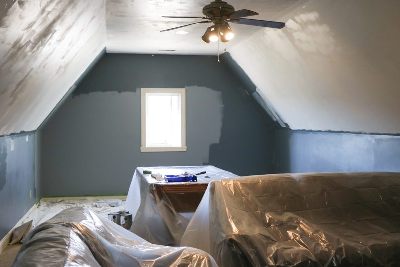 adding natural light to the man cave with velux sincerely sara d. Black Bedroom Furniture Sets. Home Design Ideas