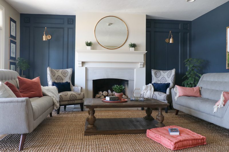 Living Room Makeover with The RoomPlace