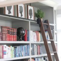 Rolling Library Ladder   Custom Service Hardware