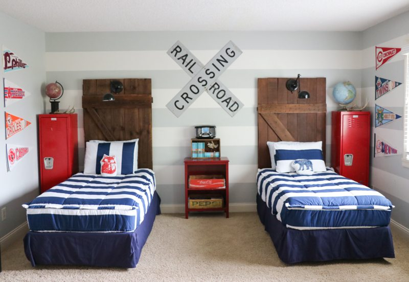 Boys Room Makeover with Beddy's