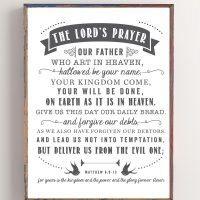 The Lord's Prayer | Free Printable